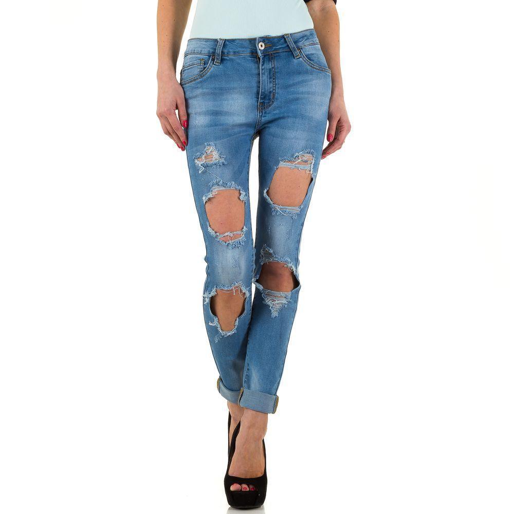Женские джинсы Daysie Jeans - синий - KL-J-DS830-синий