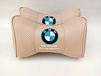 Подголовник (подушка) BMW BEIGE, фото 1