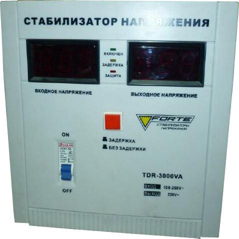 Forte TDR-3000VA Стабилизатор напряжения