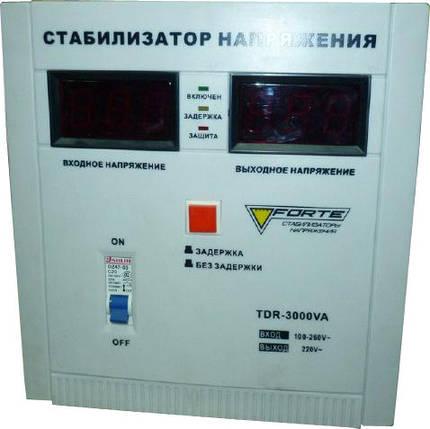 Forte TDR-3000VA Стабилизатор напряжения, фото 2