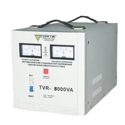 Forte TDR-8000VA Стабилизатор напряжения, фото 2