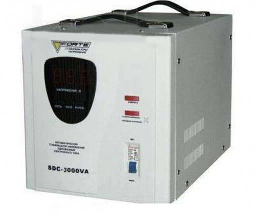 Forte SDC-3000VA Стабилизатор напряжения, фото 2