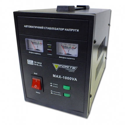 Forte MAX-1000VA Стабилизатор напряжения, фото 2