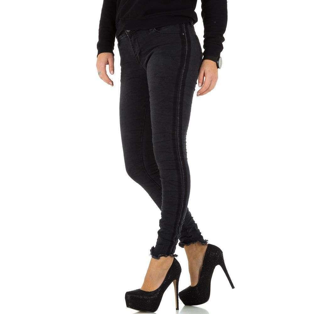 Женские джинсы - черный - KL-J-95999-black