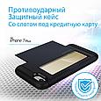 Чехол для iPhone Promate Vaultcase-I7P Blue, фото 2
