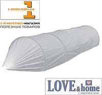 Чехол для парника 2 метра., прошитый, плотность 42 г/м2 (чехол для теплицы) без дуг