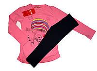 Летний костюм комплект для девочки Рост 110-122, фото 1
