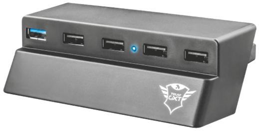 USB-хаб Trust GXT 219 для PS4 Slim, фото 2