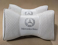 Підголовник (подушка) MERCEDES BENZ WHITE