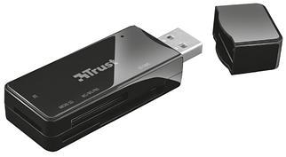 Кардридер Trust Nanga USB 2.0 (21934) Black