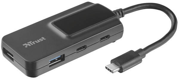 USB-хаб Trust Oila 2+2 Port USB-С & USB 3.1. Hub, фото 2