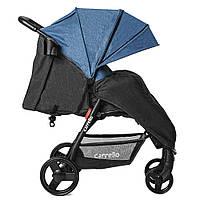 Коляска прогулочная CARRELLO Maestro CRL-1414/1 Water Blue в льне +дождевик