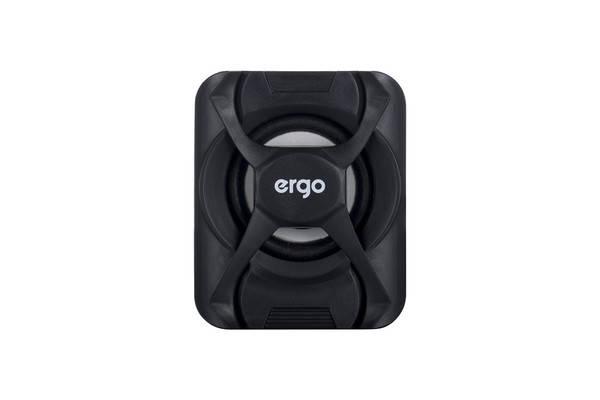 Мультимедийная акустика ERGO S-203 USB 2.0 Black, фото 2