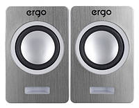 Мультимедийная акустика ERGO S-2049 USB 2.0 Silver
