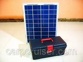 Походная мини электростанция на солнечных батареях, банк солнечной энергии 12v для зарядки телефона, планшета