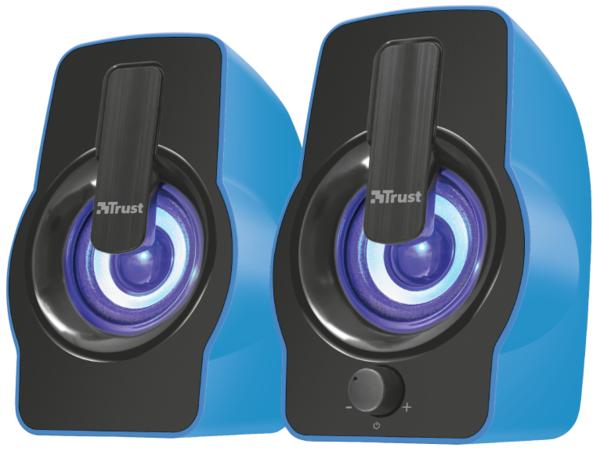Акустика Trust Gemi RGB 2.0 Speaker Set Blue USB