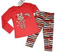 Летний костюм комплект для девочки 1-3 года, фото 1