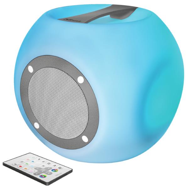 Акустика Trust Lara Wireless Bluetooth Speaker Multicolour Party Lights