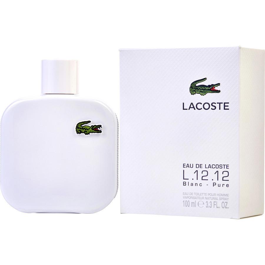 Мужская туалетная вода Lacoste L.12.12 Blanc EDT 100 ml реплика