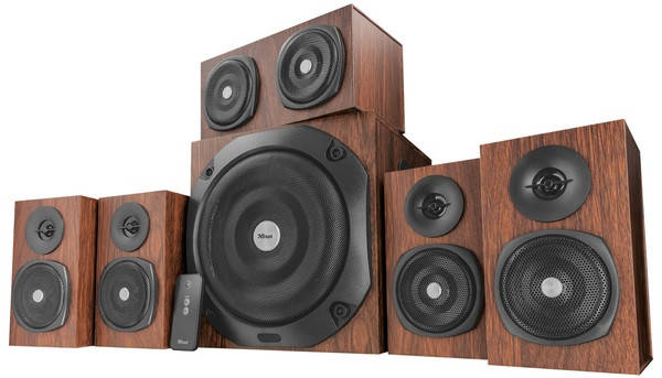 Акустика Trust Vigor 5.1 Surround Speaker System, фото 2