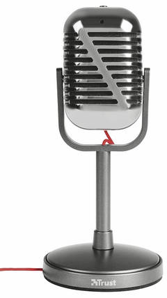 Микрофон Trust Elvii Vintage microphone for PC and laptop, фото 2