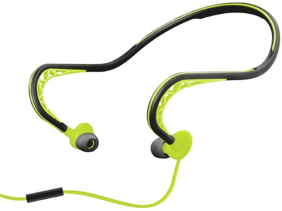 Гарнитура Trust Ludo Neckband-style Sports Earphones, фото 2