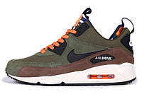 Кроссовки мужские Nike Air Max 90 Sneakerboot / 90AMM-253 (Реплика)