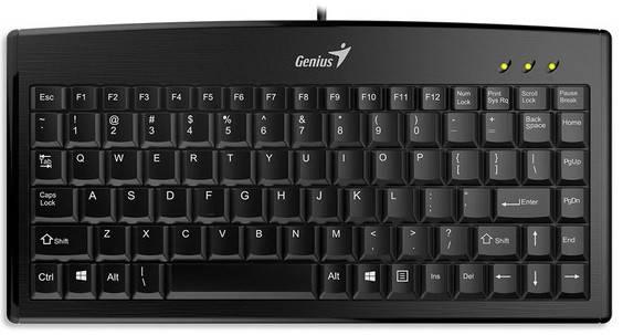 Клавиатура Genius LuxeMate 100 Black RU, фото 2