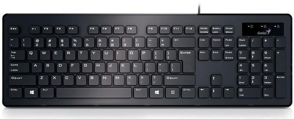 Клавиатура Genius SlimStar 130 Black UKR