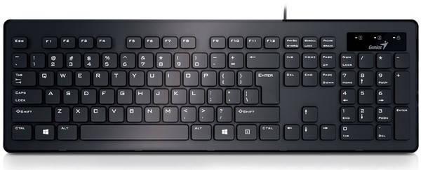 Клавиатура Genius SlimStar 130 Black UKR, фото 2