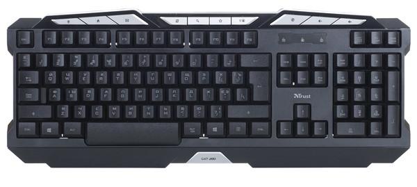 Клавиатура TRUST GXT 280 LED Illuminated Gaming Keyboard