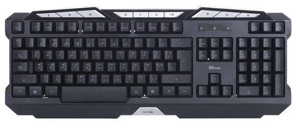 Клавиатура TRUST GXT 280 LED Illuminated Gaming Keyboard, фото 2