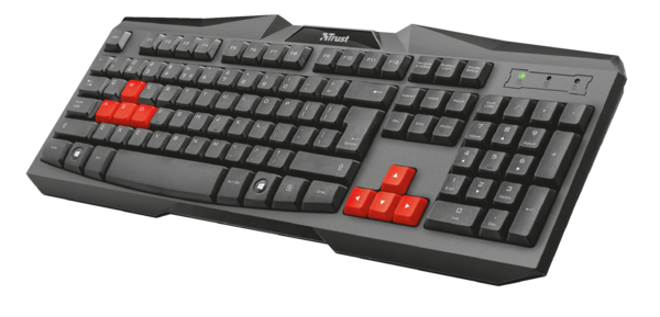 Клавиатура Trust Ziva Gaming Keyboard RU, фото 2