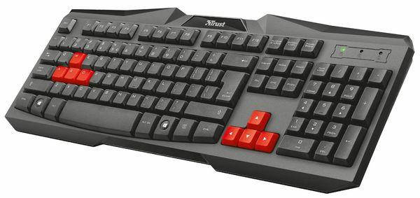 Клавиатура Trust Ziva Gaming Keyboard UKR, фото 2