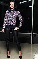 Модная весенняя блуза  стильног кроя