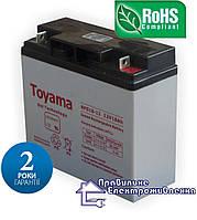 Акумулятор гелевий Toyama NPG18 12V, 18Ah GEL