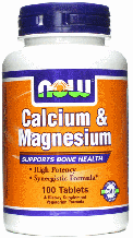 Кальций и Магний Цитрат, Now Foods, Calcium & Magnesium, 100 Tabs