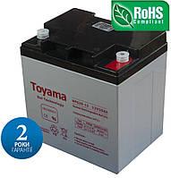 Гелевий Акумулятор  Toyama NPG 26-12 (12V 26Ah)