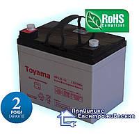 Акумулятор гелевий Toyama NPG35 12V, 35Ah GEL, фото 1