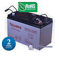 Гелева акумуляторна батарея Toyama NPG100-12, фото 1