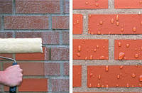 Очистка фасада и гидрофобизация