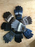 Перчатки для мальчика двухслойные с украшением, фото 1