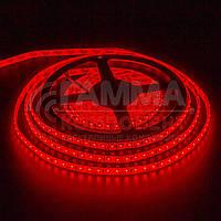 Светодиодная лента SMD 2835 (120 LED/м), красный, IP20, 12В, фото 1