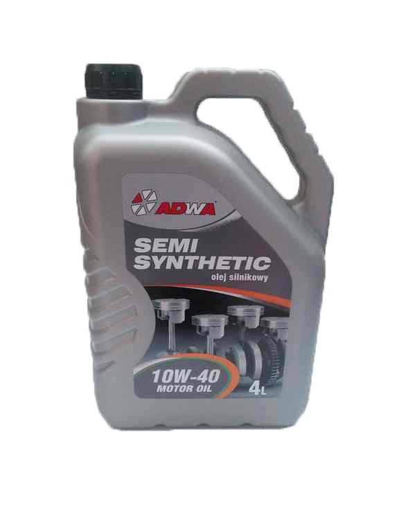 Полусинтетическое моторное масло Adwa 10w-40 4L