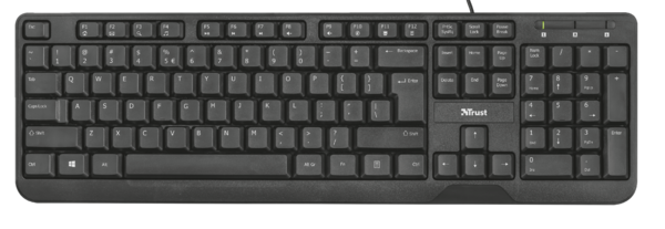 Клавиатура Trust Ziva Multimedia Keyboard RU