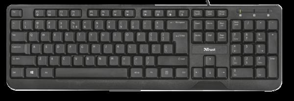 Клавиатура Trust Ziva Multimedia Keyboard RU, фото 2