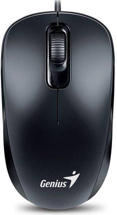 Мышь Genius DX-110 PS/2, Black, фото 2