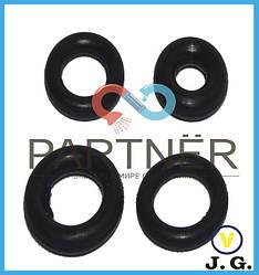 Упаковка резиновых прокладок (кольцо) 3*6*1,5 (100шт)