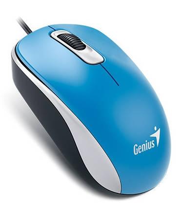Мышь Genius DX-110 USB, Blue, фото 2