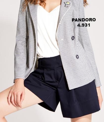 Шорты женские Pandoro 4.931 от Noche Mio, размер 38/M